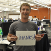 Thumbnail image for Facebook Reaches 500 Million Users, 'Thanks', Says Mark Zuckerberg