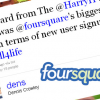 Thumbnail image for Facebook Places Boosts Foursquare Signups