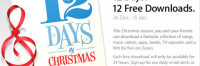 Thumbnail image for Apple's Special Christmas Giveaway – Free Downloads from iTunes