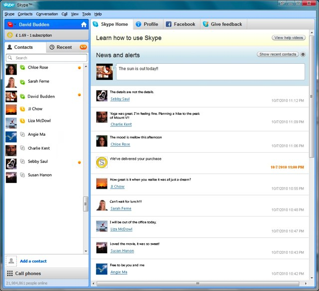 Skype 5.0 For Windows Brings Deep Facebook Integration