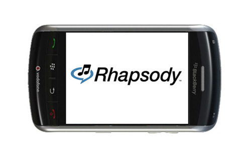 Unlimited Music Streaming For BlackBerry Users Via Rhapsody