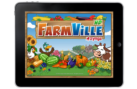 FarmVille For iPad Released, It's Free!