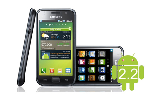 Android 2.2 Update For Samsung Galaxy S Coming This November