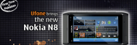 Thumbnail image for Nokia N8 Available For Pre-Order In Pakistan Via Ufone